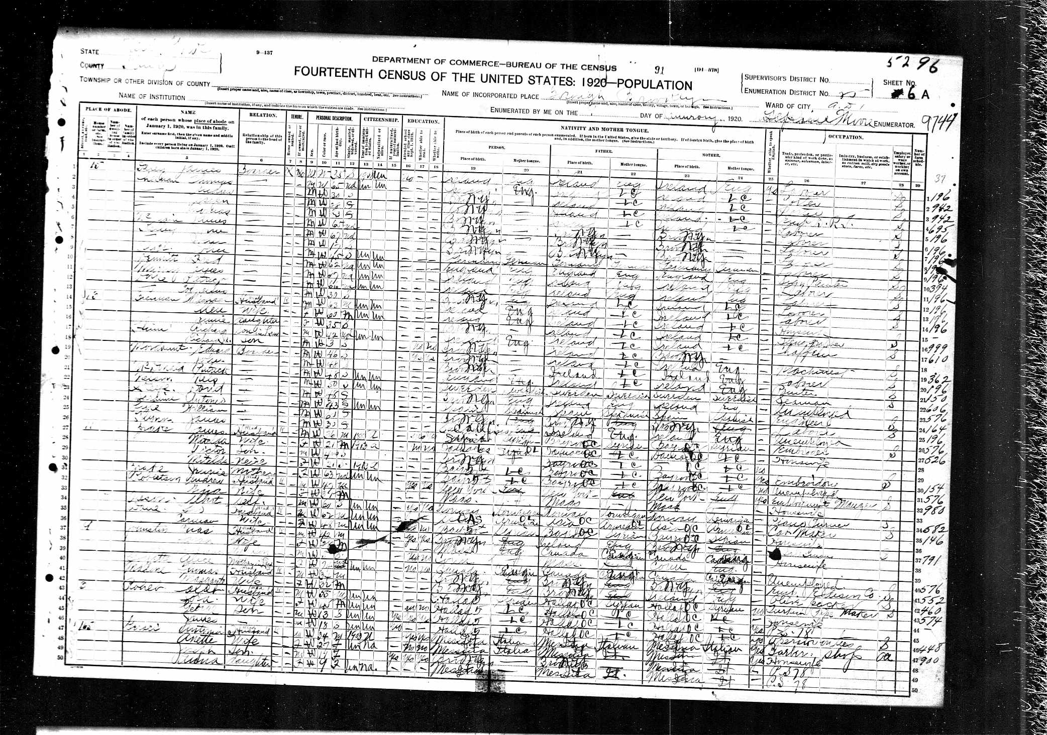 Mordaunt family america he was then in syracuse working as a typesetter in the 1910 census his year of birth had advanced to 1872 and that of mary to 1875 aiddatafo Gallery